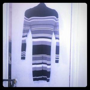 Very Sexy ribbed horizontal lines dress